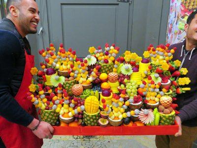 plateau de fruits mariage soirée evenement