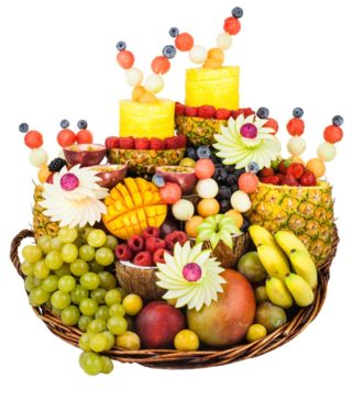 Corbeille de fruits exotiques – Corbeille de fruits Paris – Panier de fruits