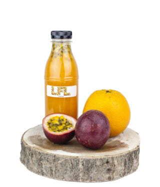 Jus de fruit frais – orange passion