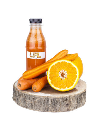 Jus de fruit frais – orange carotte