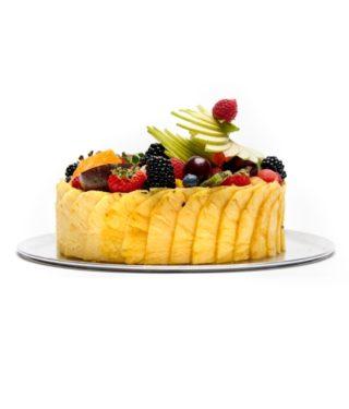 Création Dessert de fruit revisité – Vue face